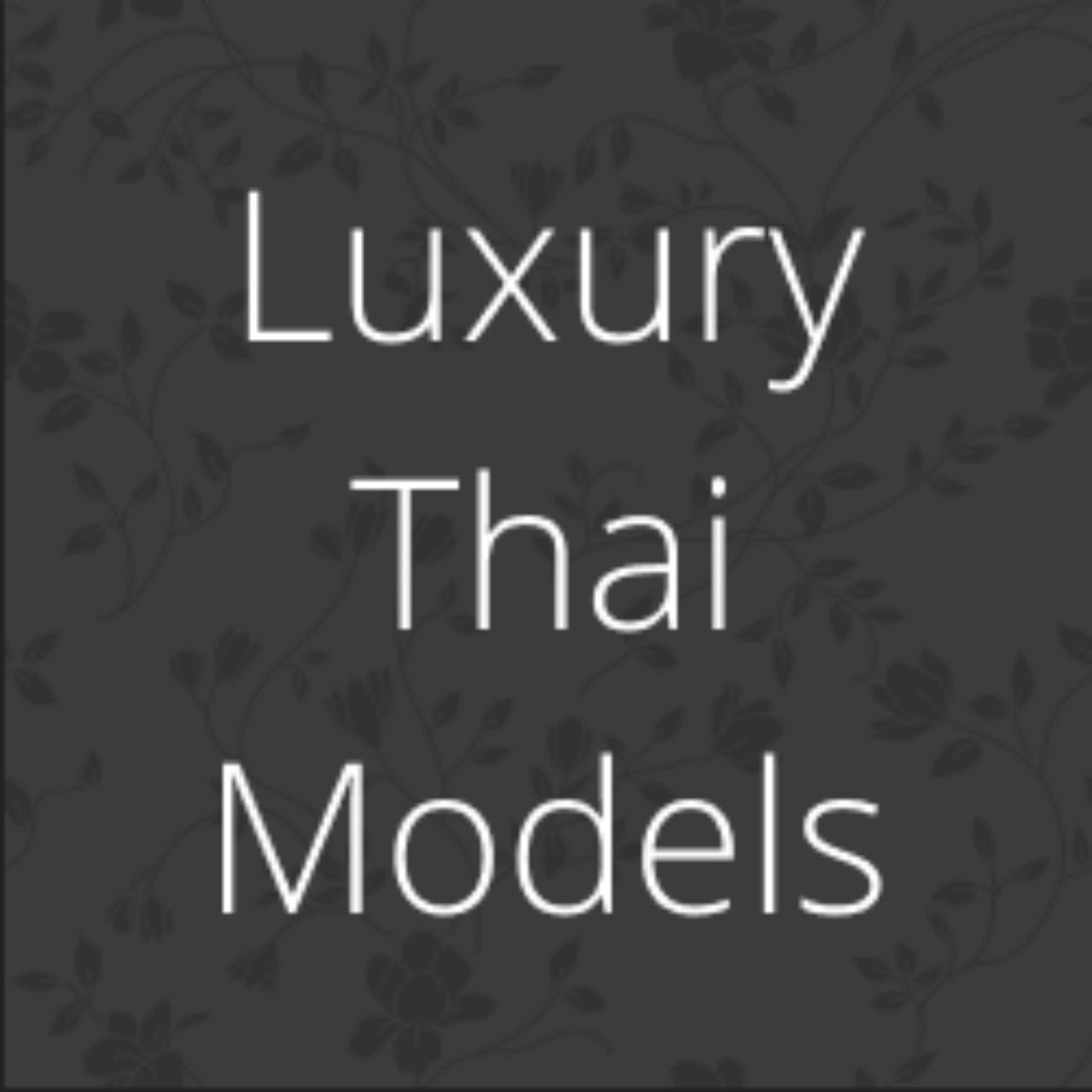 Luxury Thai Models